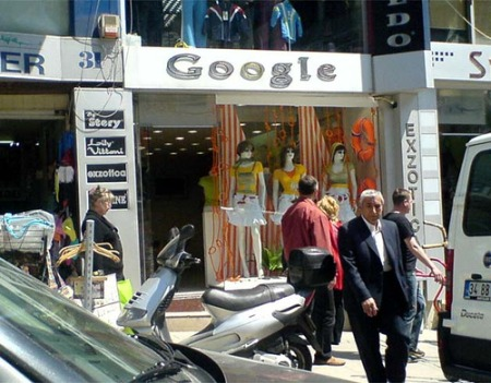 Google Mode Fashion in Istanbul, Türkei