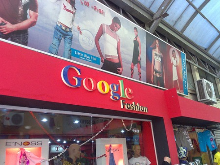 Google Fashion in Marmaris, Türkei