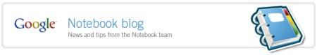 Google Notebook Blog