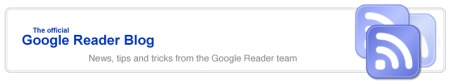 Google Reader Blog