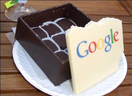 Chocolate Box: Google Schokolade