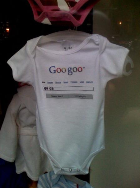 Google Strampler: Goo Goo Gaga