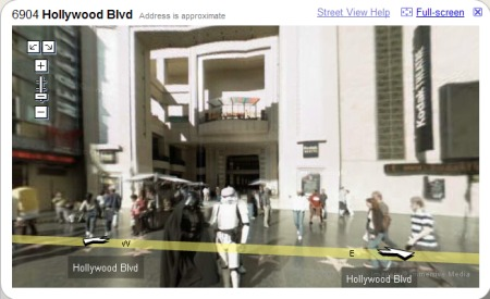 Hollywood - Google Maps Street View Hollywood