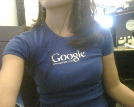 Swag Experiment Tag 1 - Blue Google T-Shirt