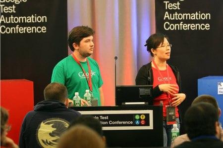 Fotos von der Google Test Automation Conference 2007 in New York