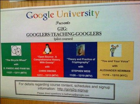Google University - Googler teaching Googler