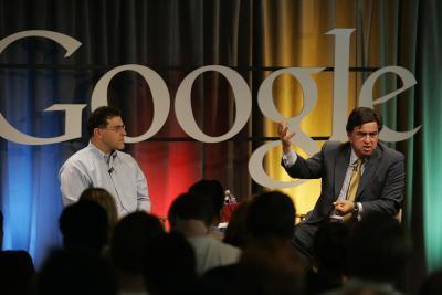 Google Headquarter Besuch von Bill Richardson