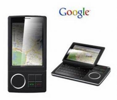 weitere Variante eines möglichen Google Cellphone
