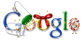 Happy Holiday Google Doodle