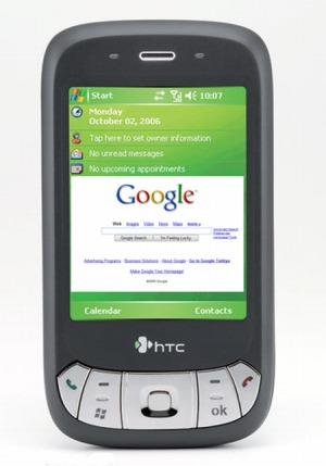 HTC P4350 als mögliche Variante zum Googlephone