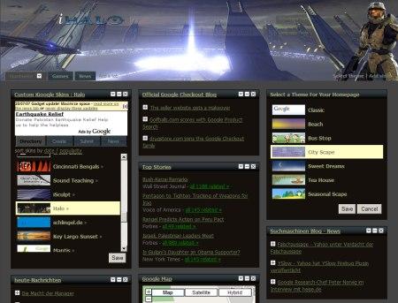 Halo - iGoogle Skins Halo