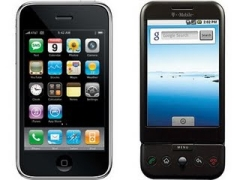 Apple iPhone oder Google G1 mit Android