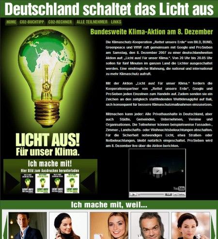 Licht aus Deutschland