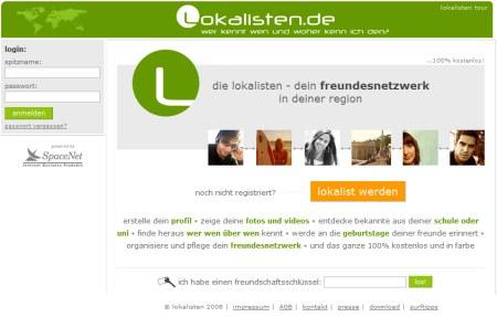 Lokalisten Social Network