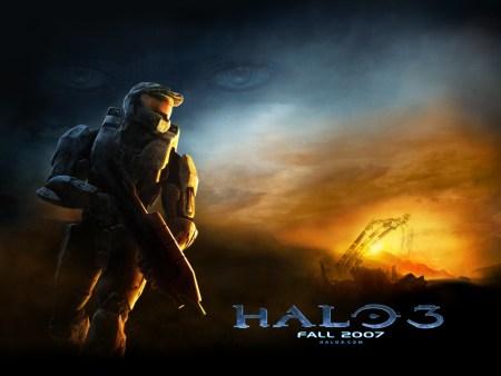 Halo 3 - Ballerspiel von Microsoft im Action-SF-Shooter Stil