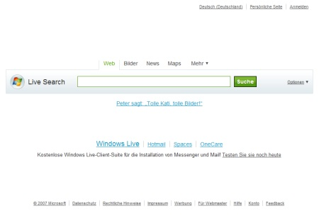 Microsoft Live Search