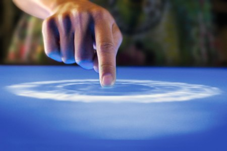 Microsoft Surface Touchscreen Tisch