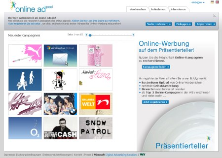 Microsoft und Marketing Magazin V&W relaunchen neue Version von online-adpool.de