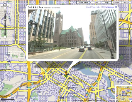 Google Maps StreetView: Minneapolis