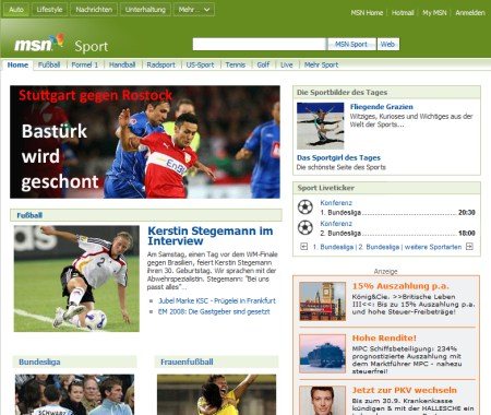 MSN Sport Channel