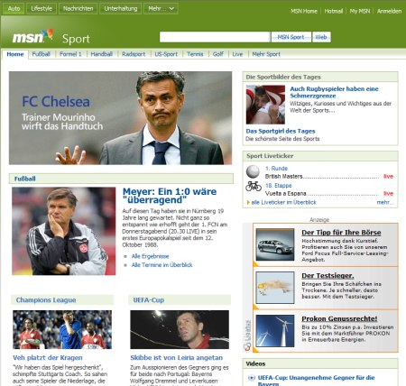 MSN Sport Channel