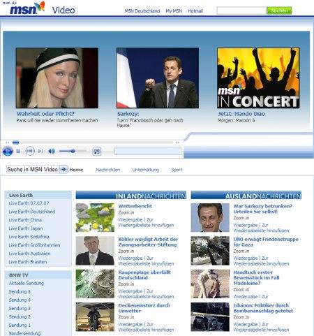 MSN Video und BMW schliessen Content-Kooperation - BMW-TV ins Menü integriert