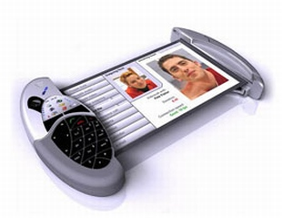 Polymer Vision Concept Cell Phone