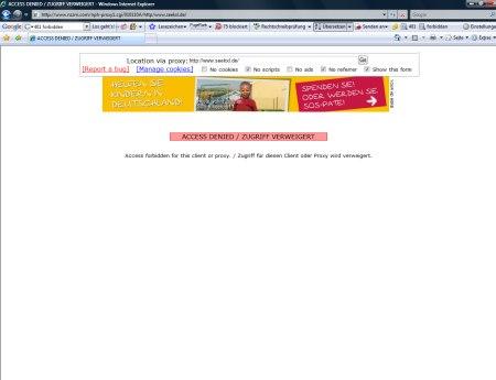 Suchmaschine seekXL geschützt vor Zugriff von nzzm.com