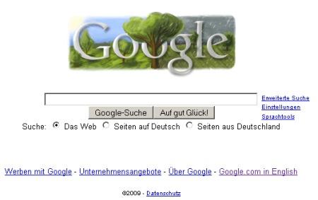Google Doodle zum Siebenschläfertag