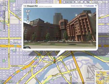 Google Maps StreetView: St. Paul