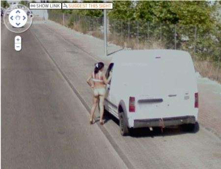 Street View ist auch im Rotlicht Bereich immer mit am Start