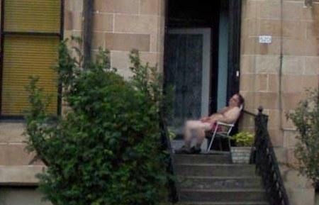 Street View nimmt Dich auch auf, während Du an nichts böses denkst und schläfst.