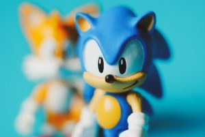 Superheld Sonic the Hedgehog