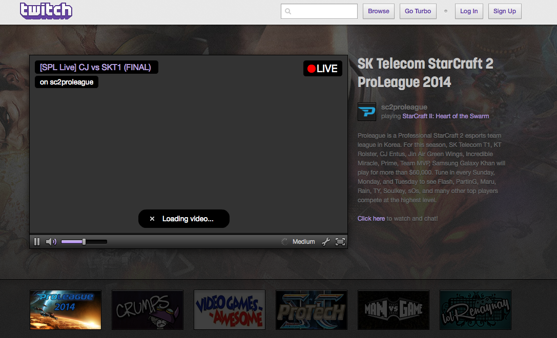 Streaming-Plattform Twitch