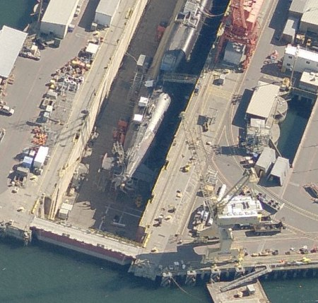 Nuklear-U-Boot Sichtung in US-Militärbasis Bangor