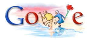 Valentins Tag 2008 Google Doodle