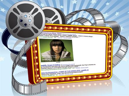 Videowerbung in Google Suchergebnissen
