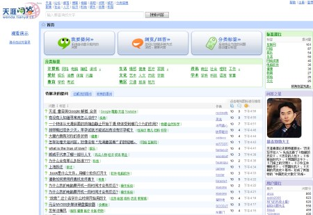 Wenda.tianya.cn - Fragen & Antworten Portal in China