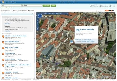 Windows Live Search Maps