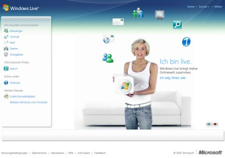 Windows Live Service