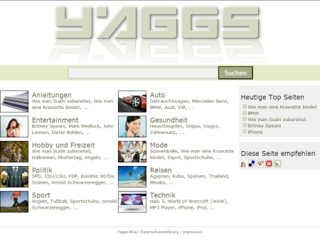 Yaggs - Human Powered Search