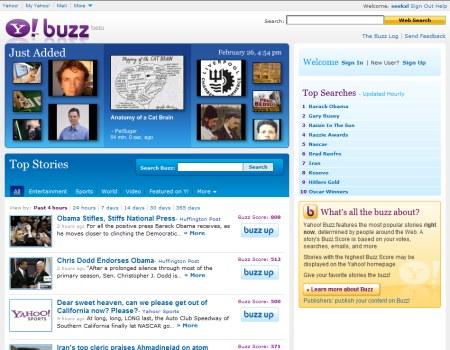 Yahoo Buzz!