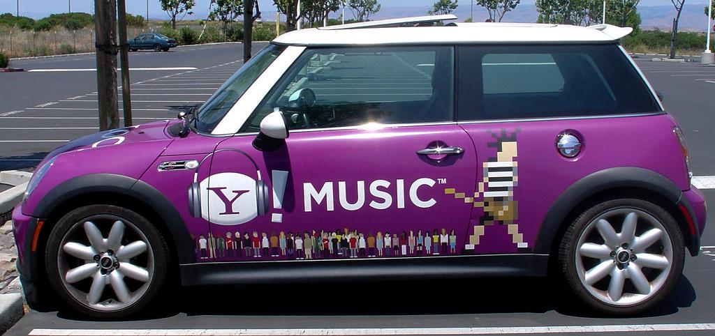 Yahoo Music Mini - Yahoo Cars