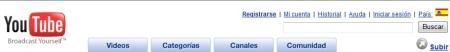 Videoportal Youtube Spanien